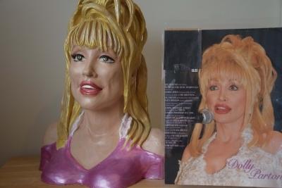 Dolly Parton met foto