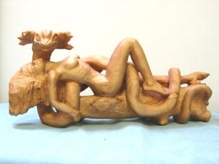 Sensual Snake woman